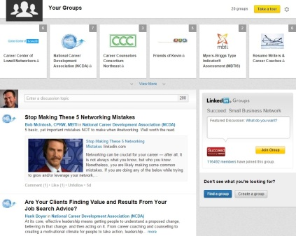 how to see linkedin page as others see it