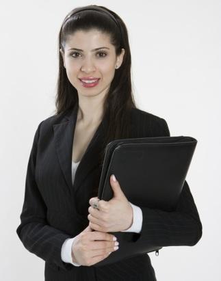 Woman Job Candidate