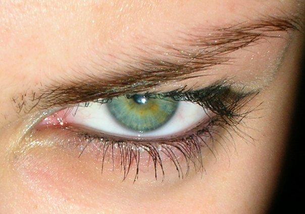 angry eye