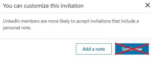 Invite box